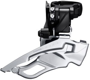 Товар FDT6000H3XL Перемикач передній SHIMANO DEORE FD-T6000-H 3X10, для 44/48Т, HIGH CLAMP, Down-Swing, DUAL-PULL хомут